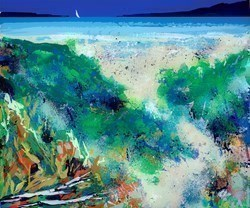 The Feel of Sand Between Your Toes by Duncan MacGregor -  sized 37x33 inches. Available from Whitewall Galleries